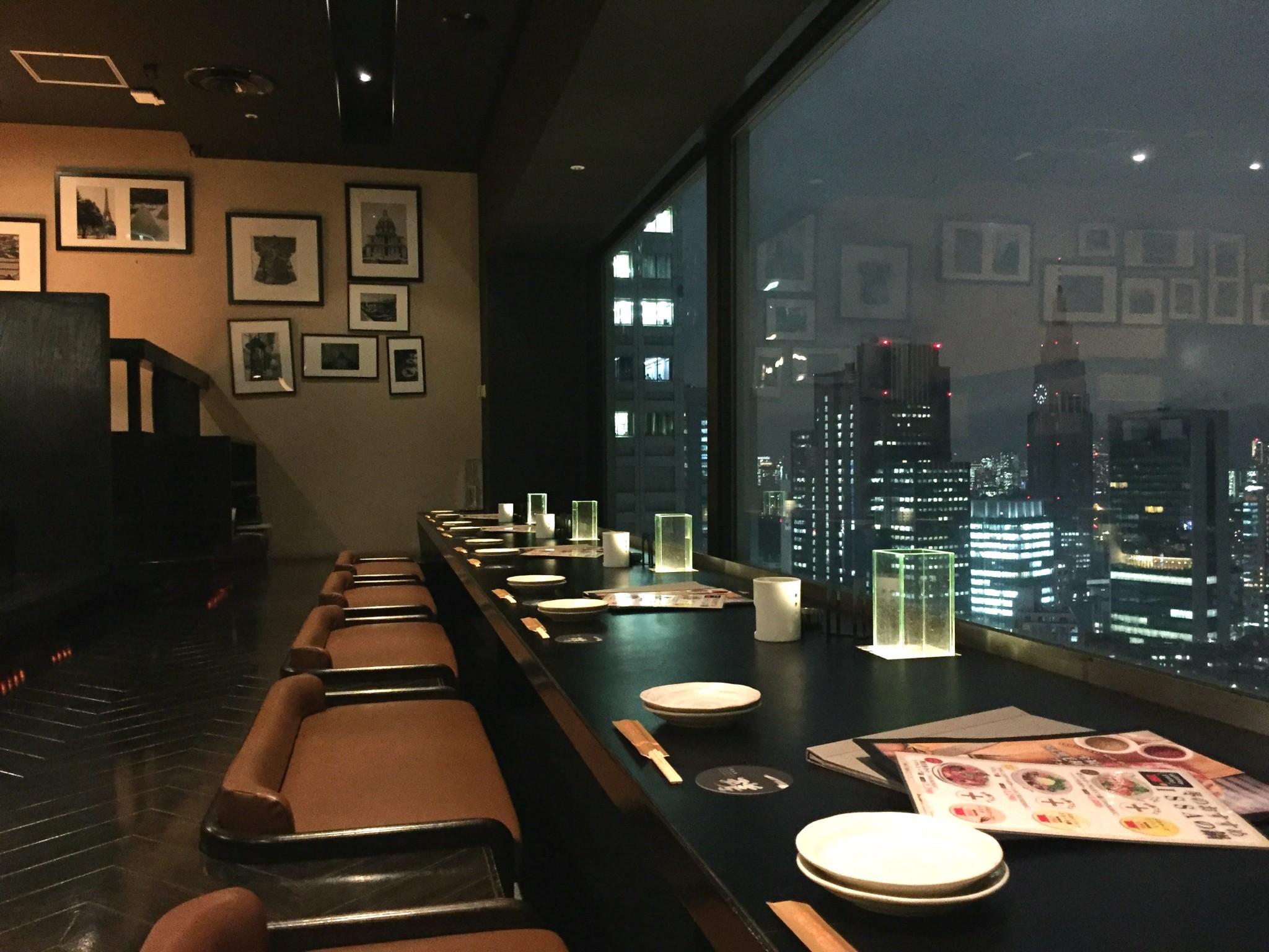 Tokion ruokapaikat Issa Shinjuku