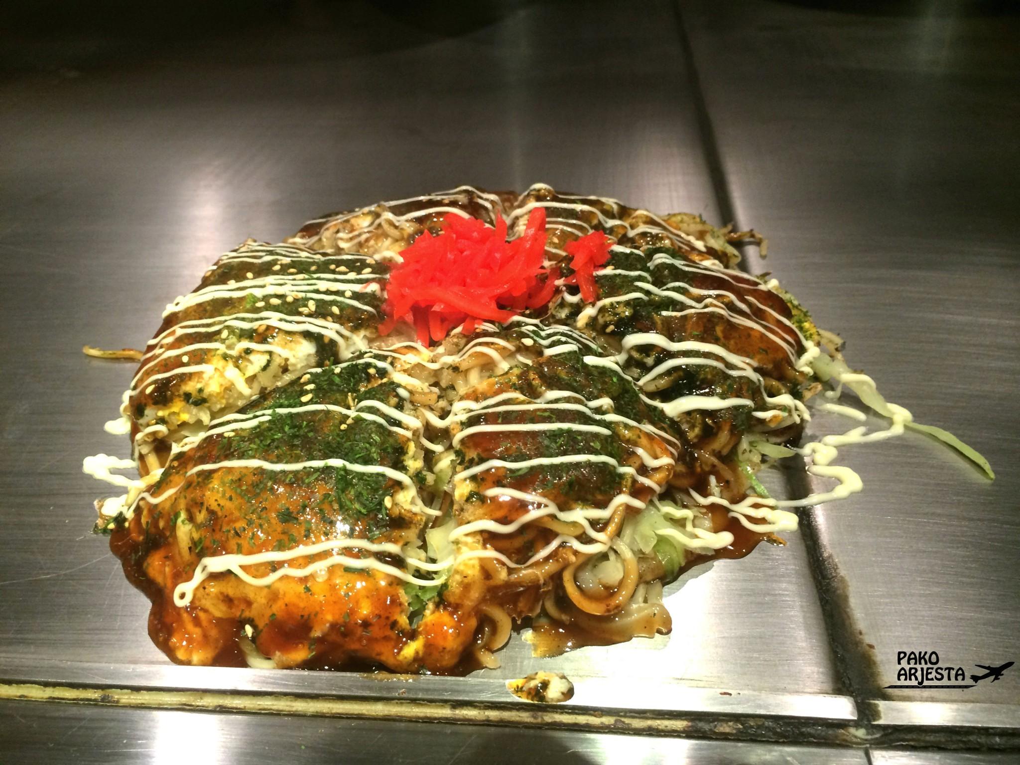 Tokion ruokapaikat Okonomiyaki