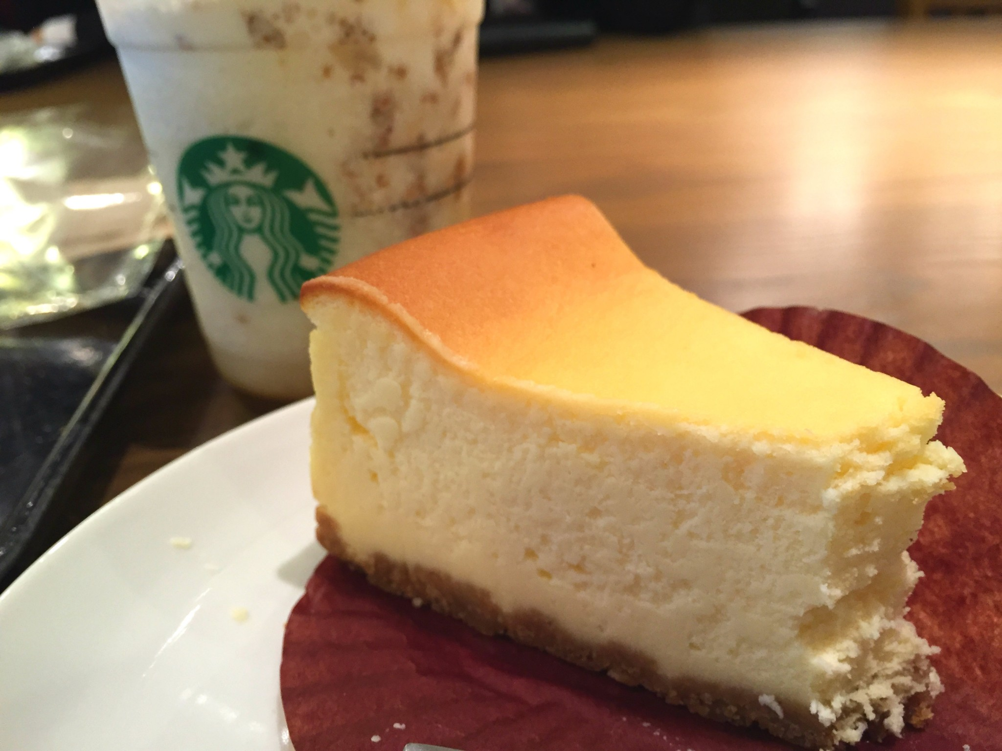 Tokion ruokapaikat Starbucks cheesecake