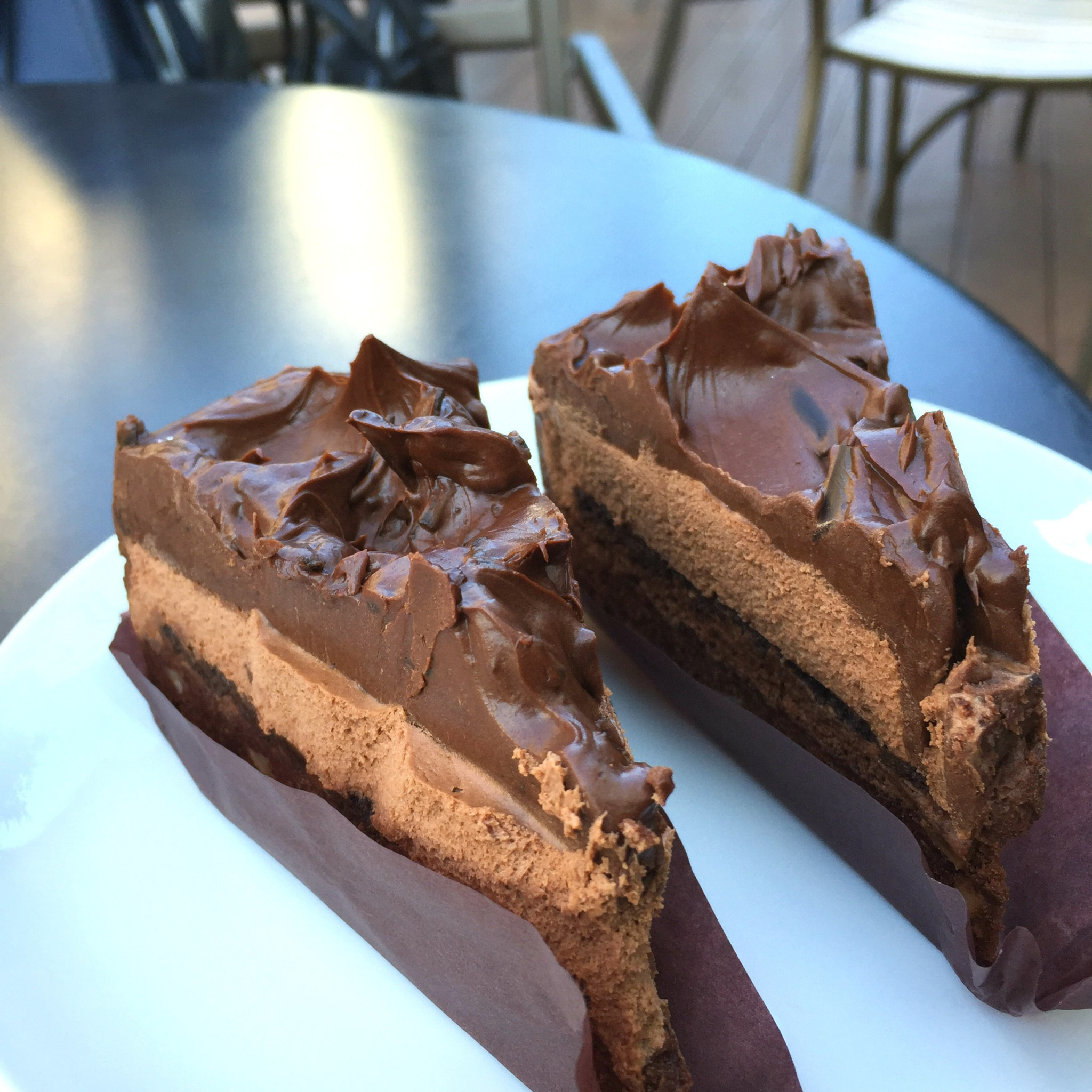 Tokion ruokapaikat Starbucks chocolatecake