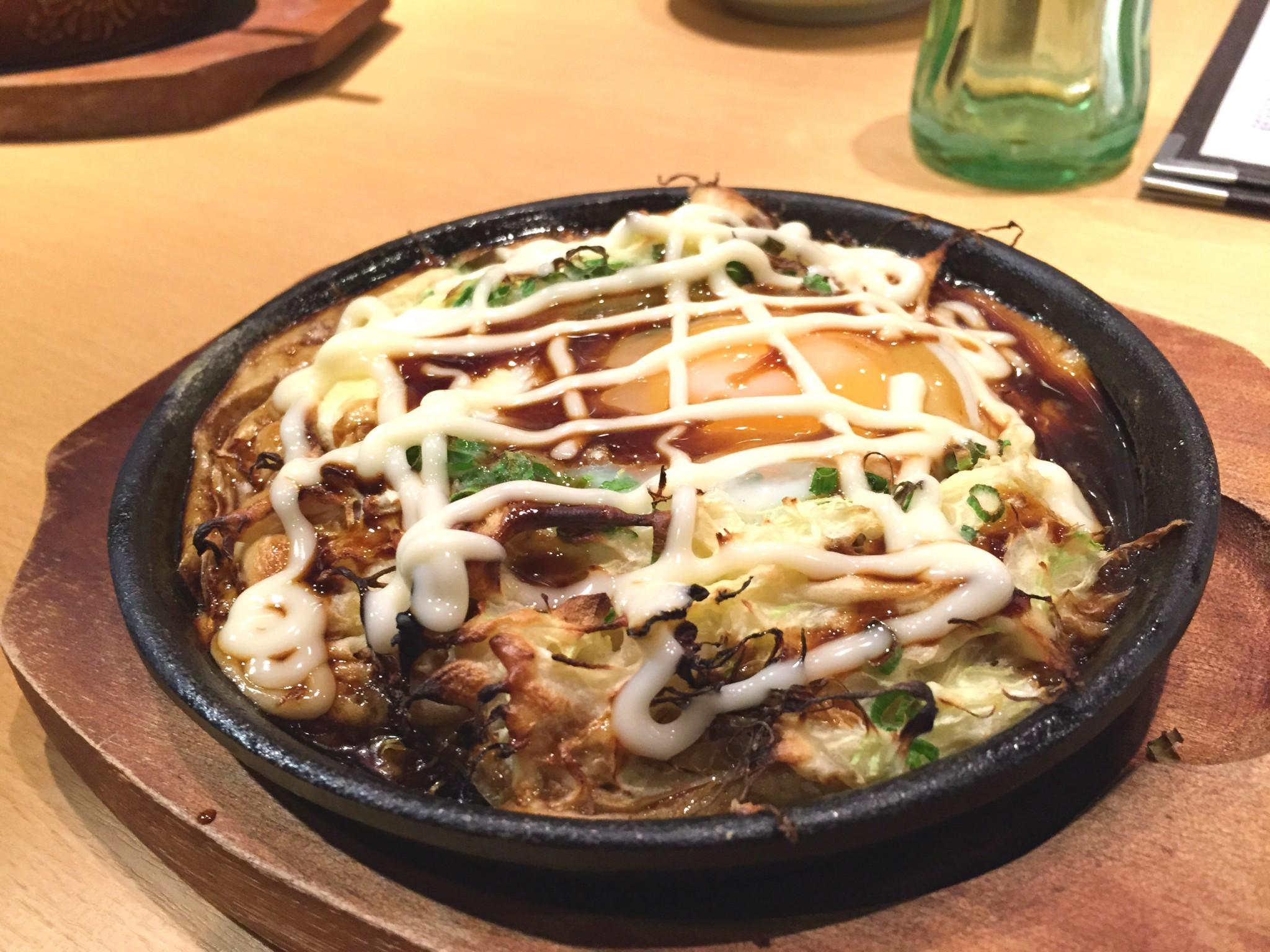 Tokion ruokapaikat Tengu okonomiyaki