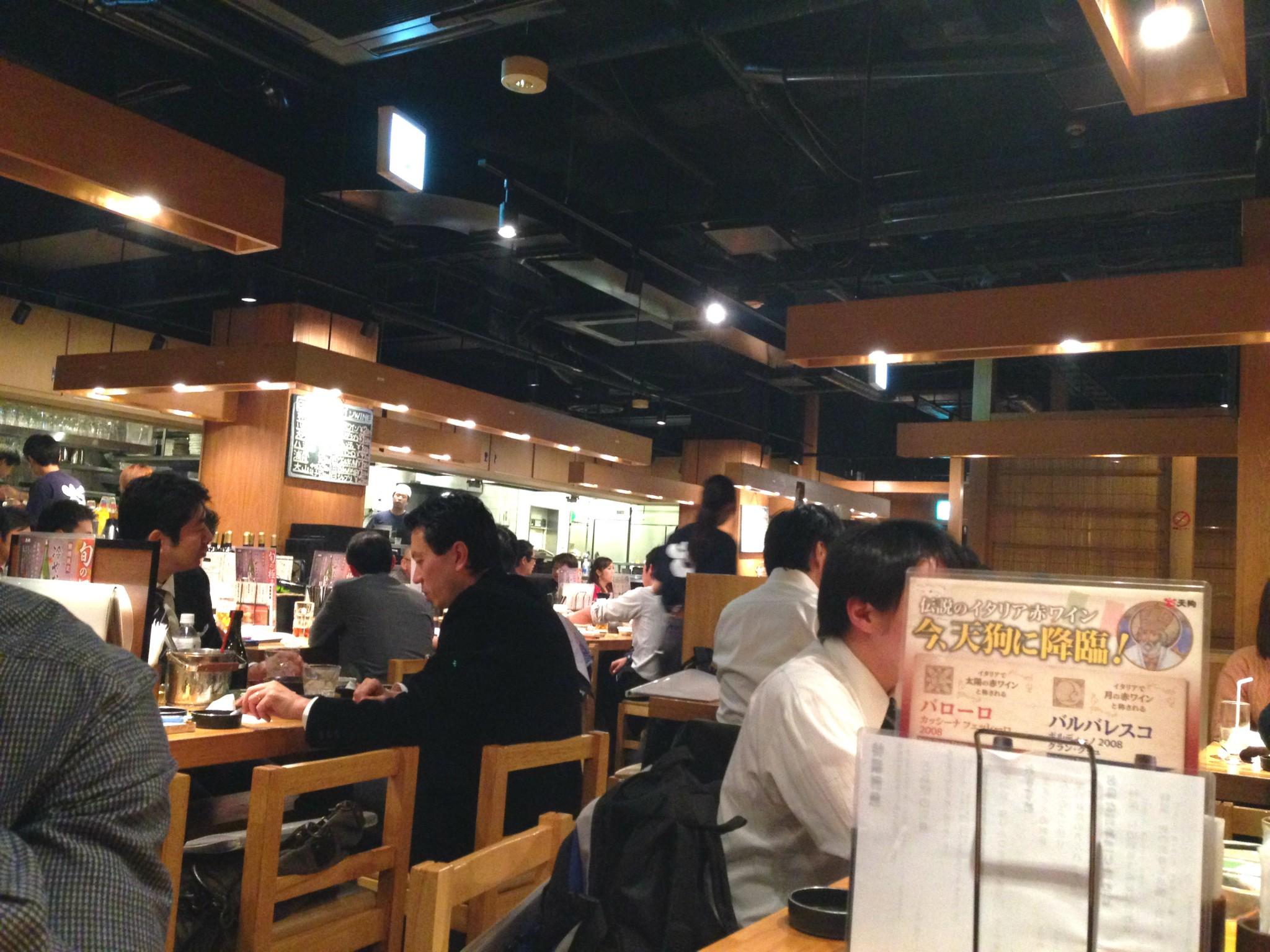 Tokion ruokapaikat Tengu