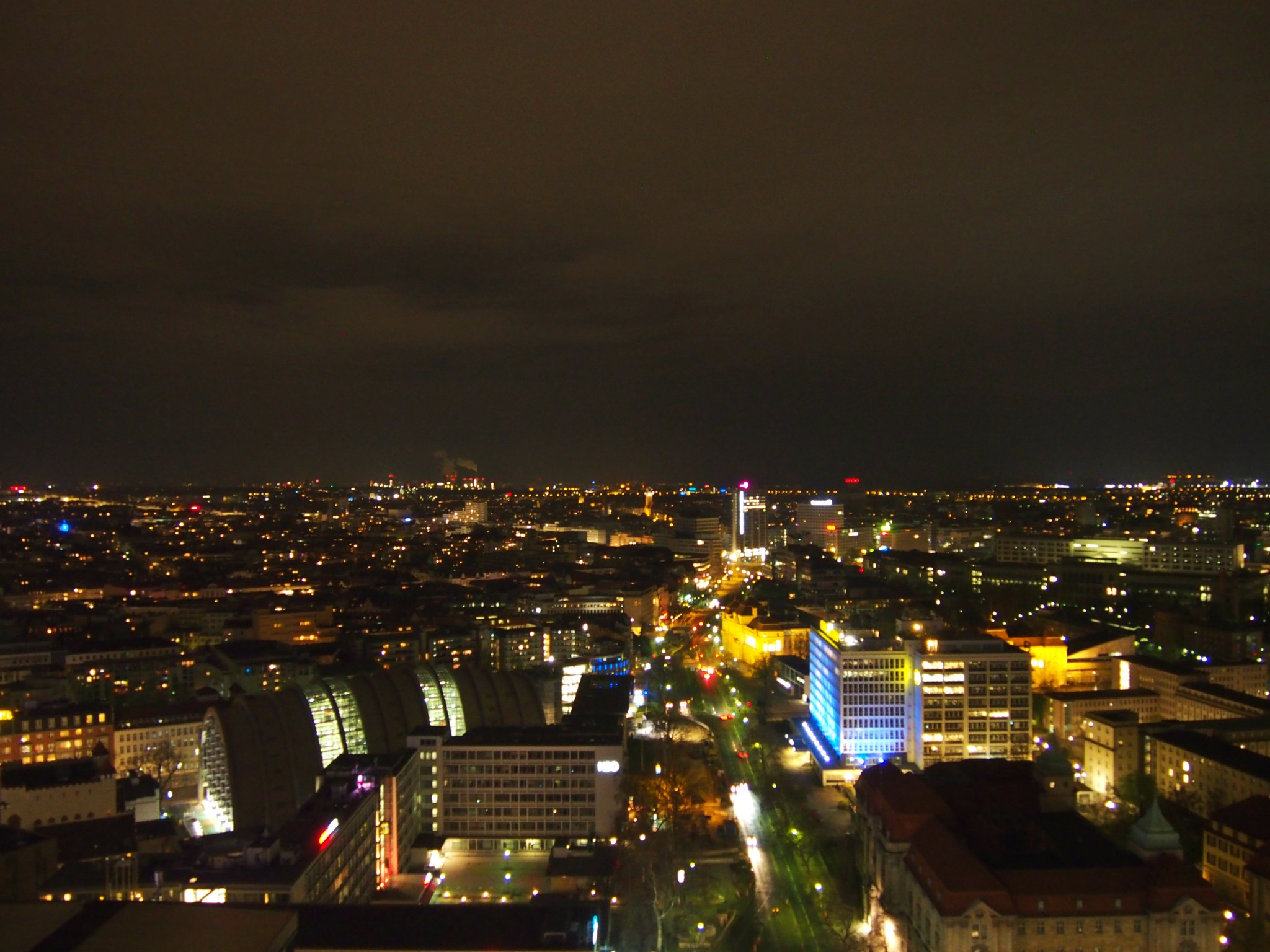 Waldorf Astoria Berlin Tower Suite näkymä 2
