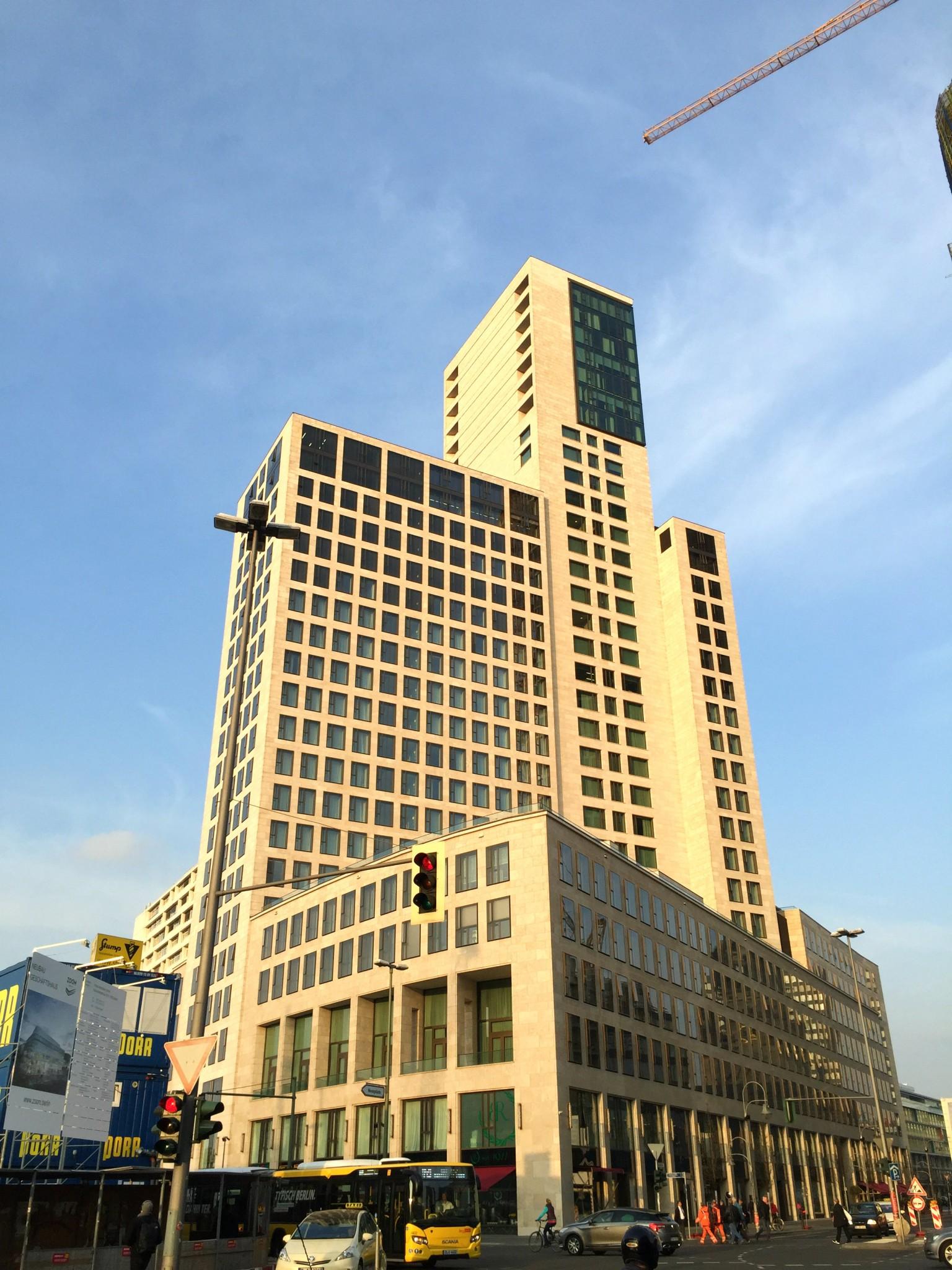 Waldorf Astoria Berlin ulkokuva