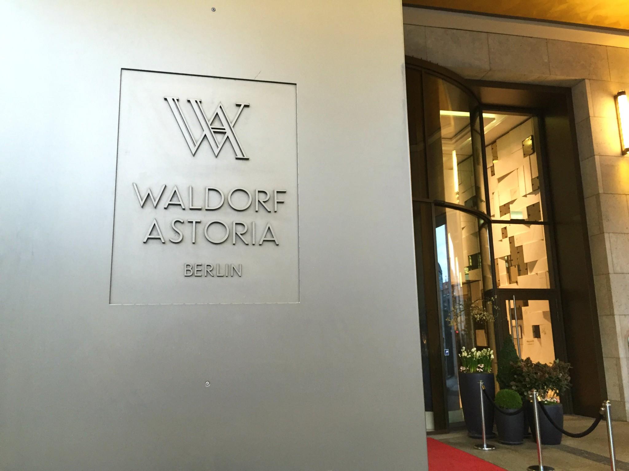 Waldorf Astoria Berlin ulkonimi