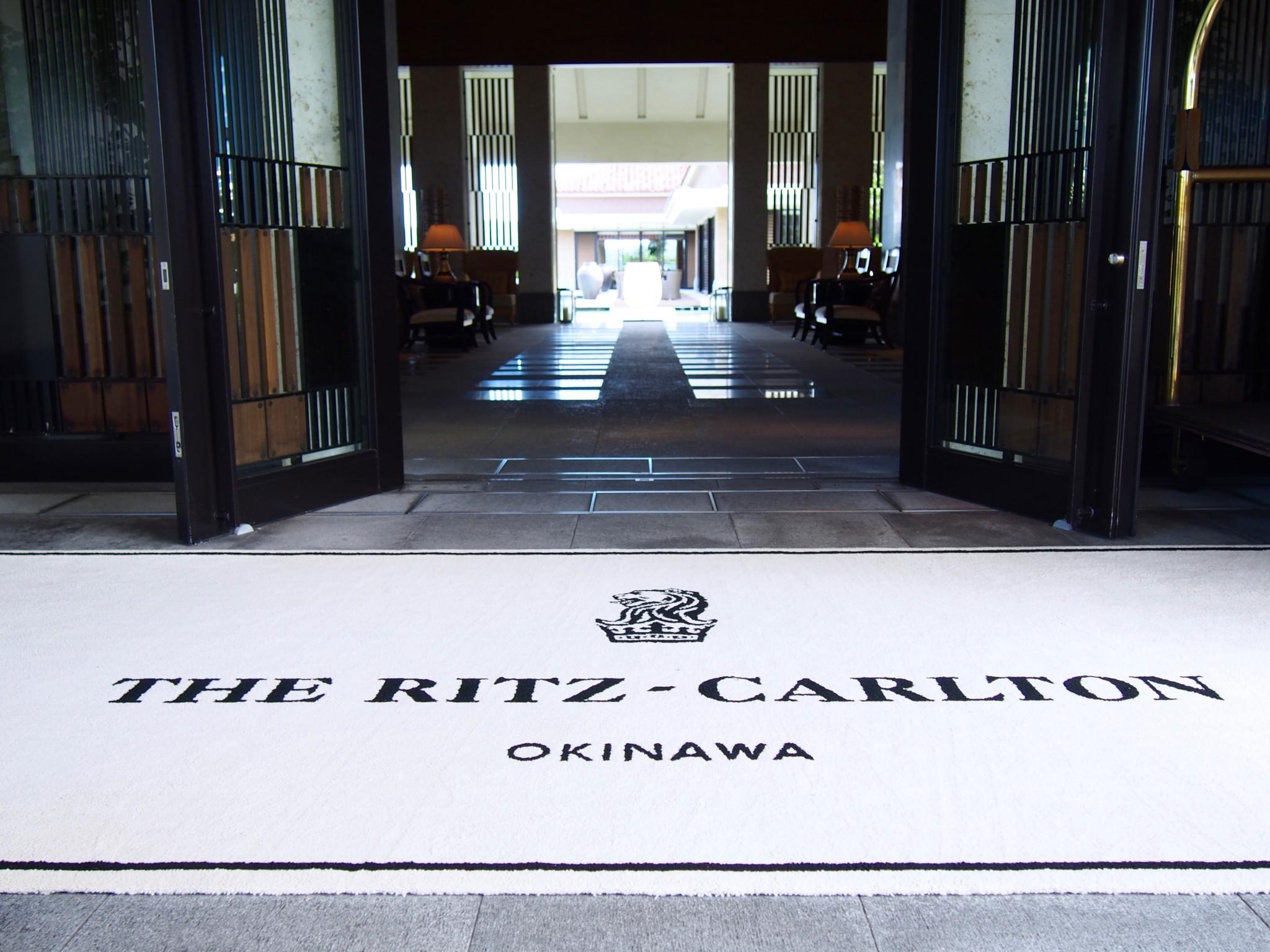 Ritz-Carlton Okinawa sisäänkäynti 2