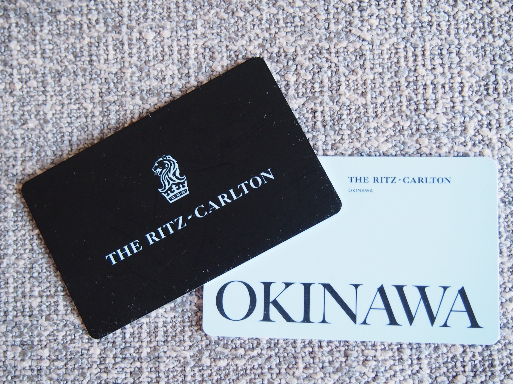 Ritz-Carlton Okinawa kortti