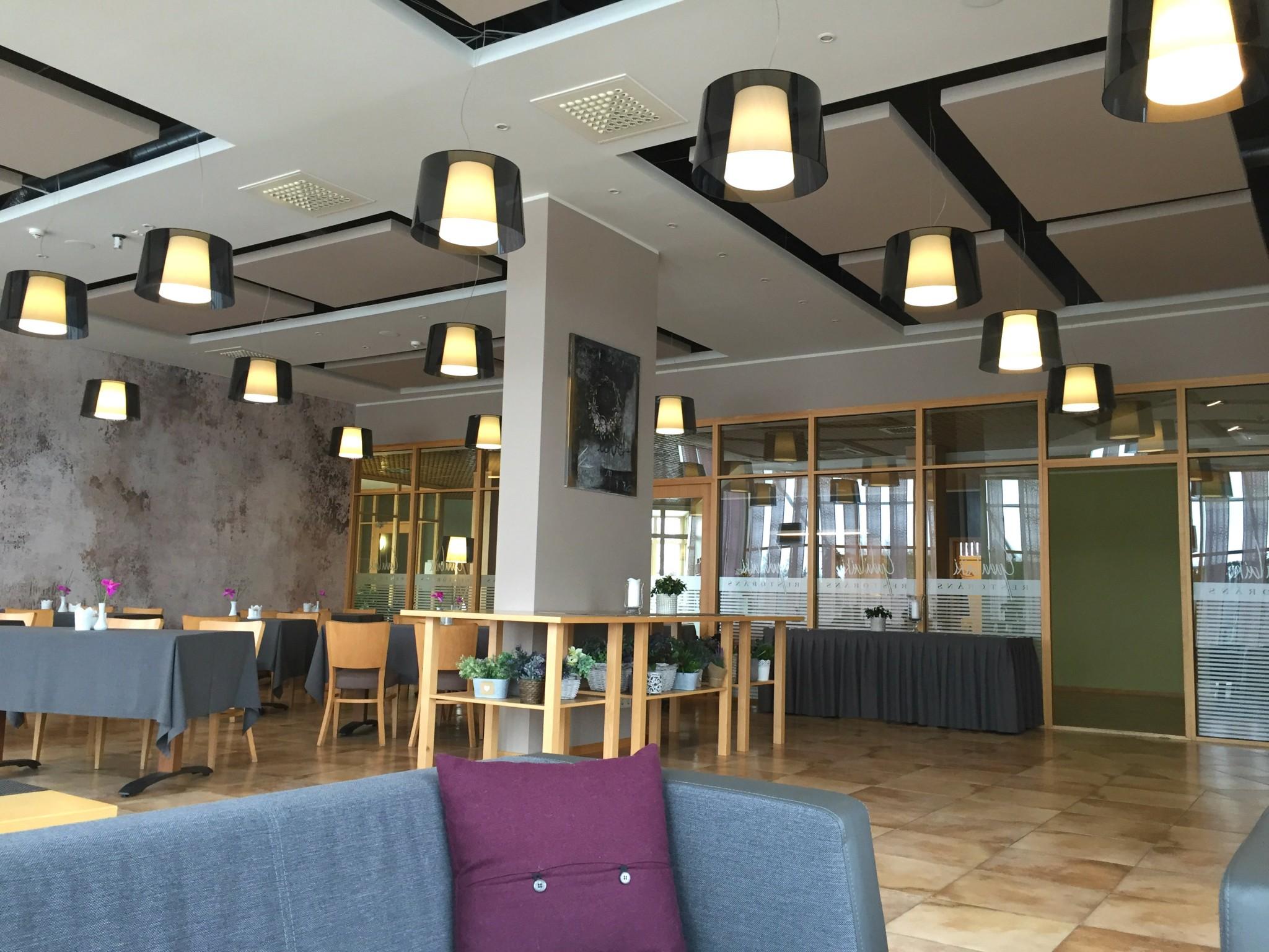 Spa hotel ezeri latvia ruokailutila