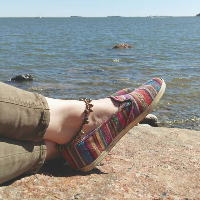 Maybe Possibly Finally Summer came to Helsinki
