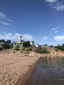 Hangon keskustan ranta