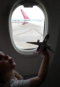 Kuva: Lentokone nousee