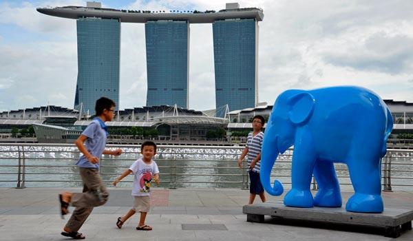 Marina Bay Singaporessa