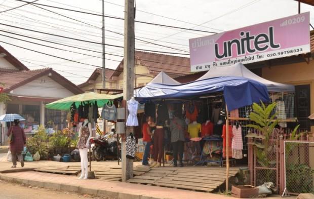 Vaatekauppa Luang Prabang