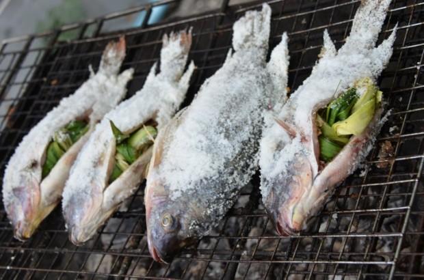 Kaloja grillillä
