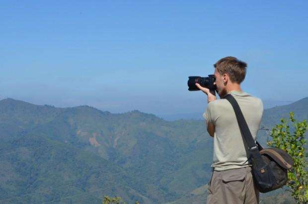Maisema Laosissa