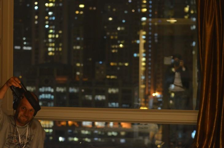 Äänitysmaisemia Hong Kongissa.