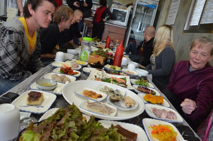 Korealaista ruokaa