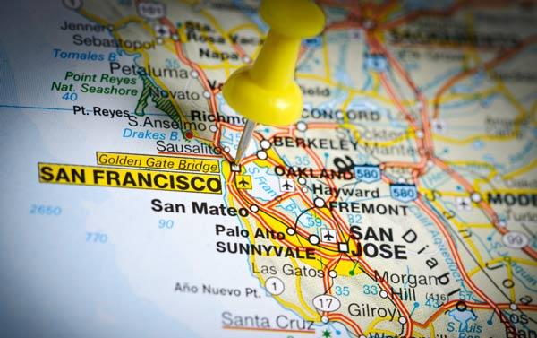 Pikavuoro pysähtyy San Franciscossa