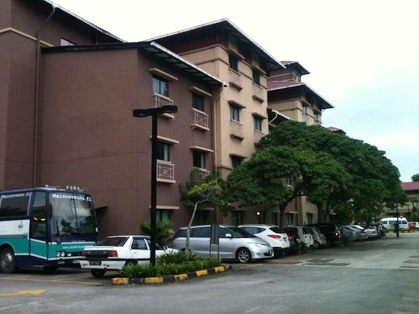 Prescott hotelli Klangissa.