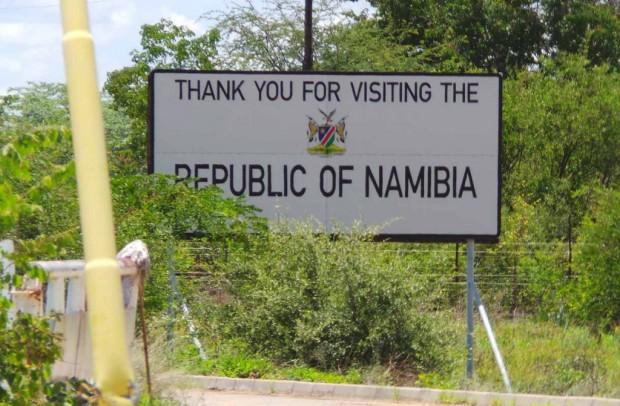 Namibia kiittää käynnistä.