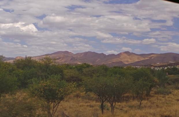Maisemat olivat kuin luontodokumentista. Afrikan eläimiä ei tosin näkynyt.