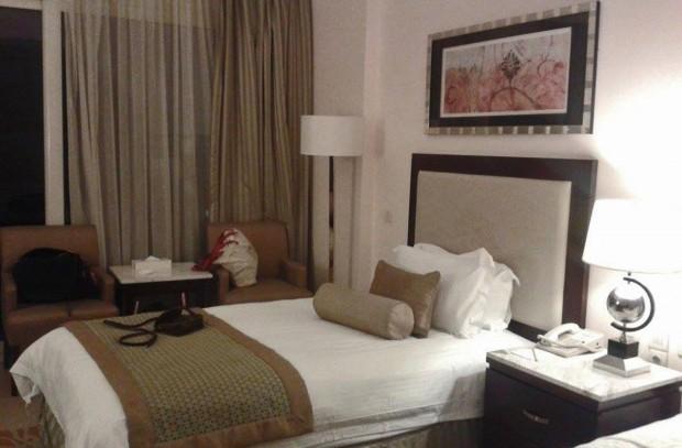 Huoneissa oli reissun parhaimmat sängyt.