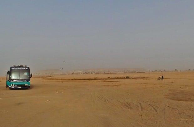 Viimeinen aamu Sudanissa.