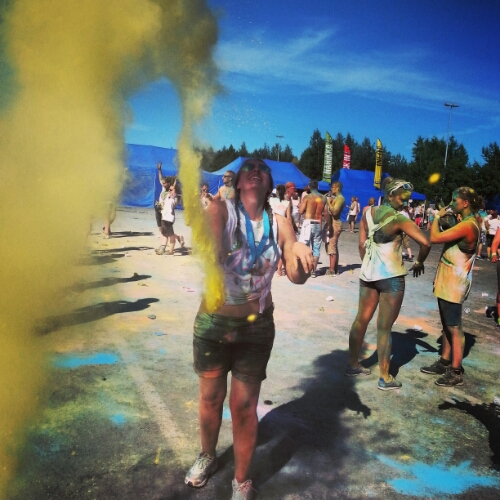 Väriestejuoksu Oulu