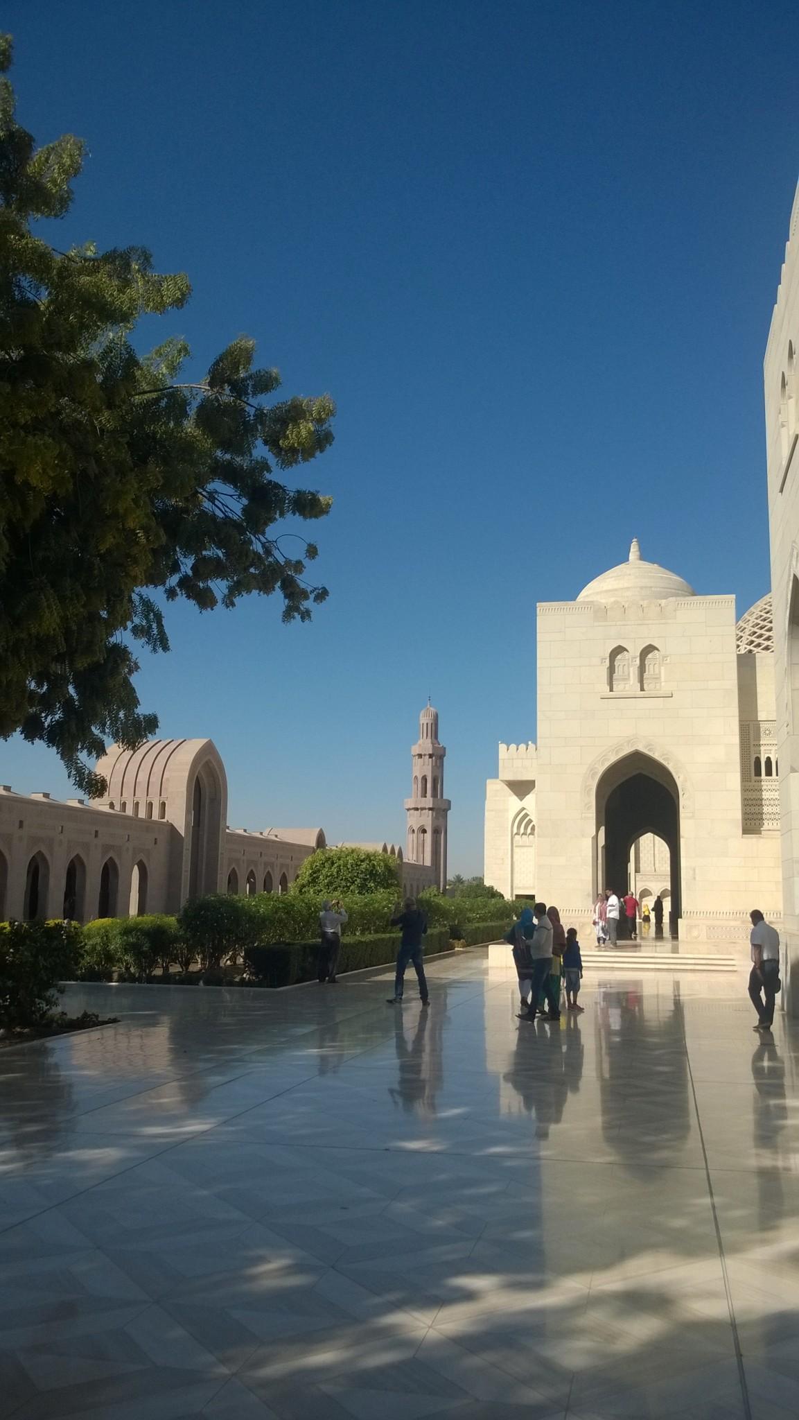 Moskeijan piha-aluetta