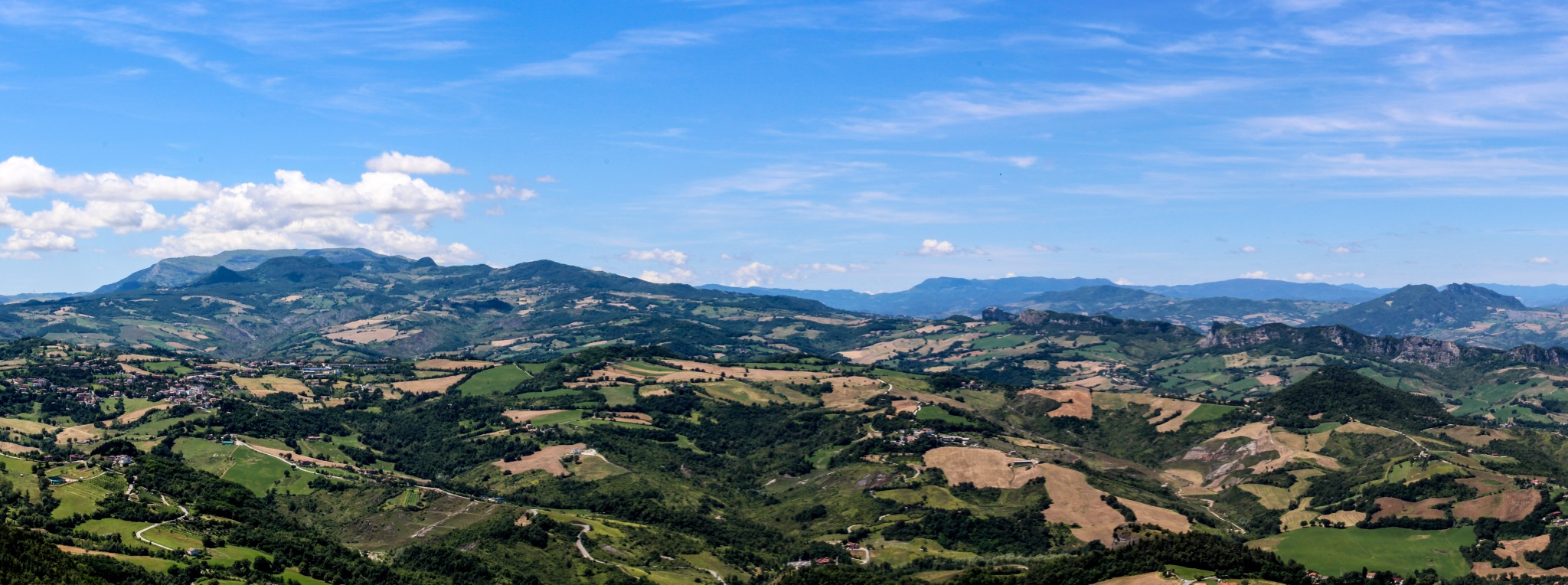 San Marino maisemat