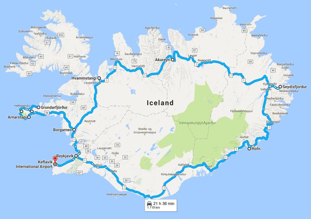 islanti_roadtripreitti