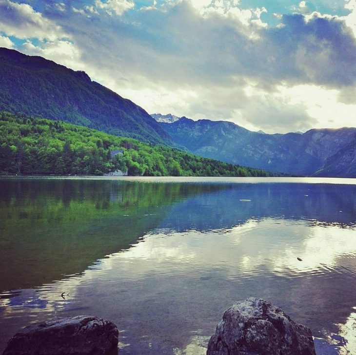 Just arrived at Lake Bohinj in Triglav national park Suchhellip