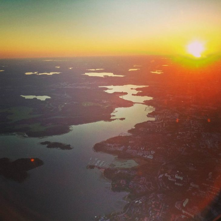 Back in Finland! sunset finland homecoming photooftheday instatravel travel travelgramhellip