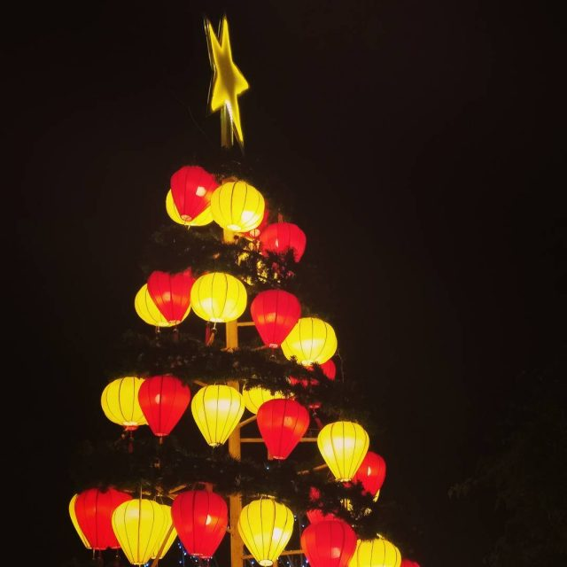Joulukuusi Hoi Anin tapaan! lanterns hoian vietnam