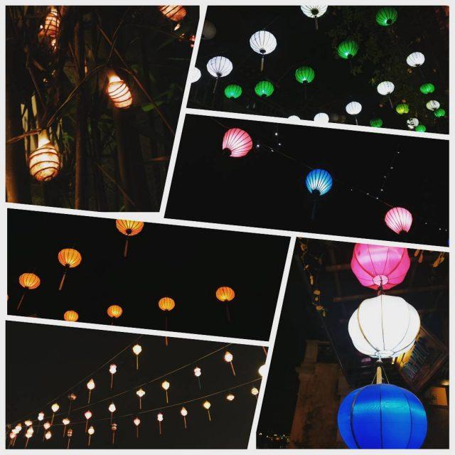 Hoi Anin tuhannet loistavat lyhdyt lanterns hoian hoianancienttown vietnam