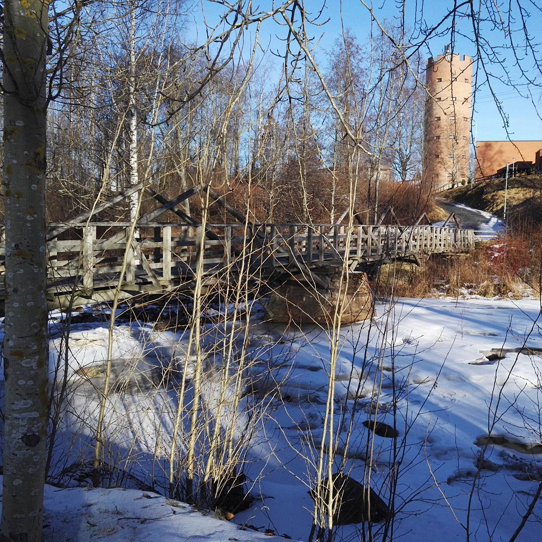 Feels like spring! :) #jokuihmevaloilmiö #sun #landscape #seinäjoki #finland #spring