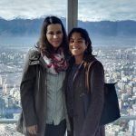 Touristing in Santiago! skycostanera santiago chile tourist travel ranskattarenreissut southamerica