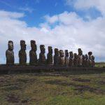 easterisland chile isladepascua moai travel ranskattarenreissut explore southamerica