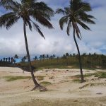 Beach time! isladepascua easterisland chile ranskattarenreissut playa beach southamerica travelhellip