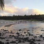 Last sunset in Easter Island tomorrow heading to Via delhellip