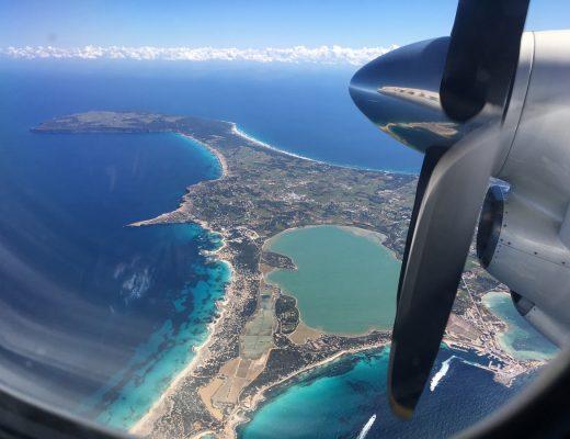Ilmakuva Formenteran saaresta