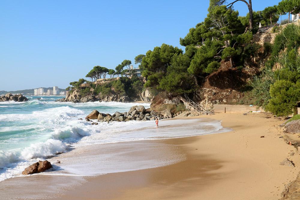 Platja d'Aro rantaa