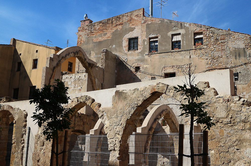 Tarragona raunioita