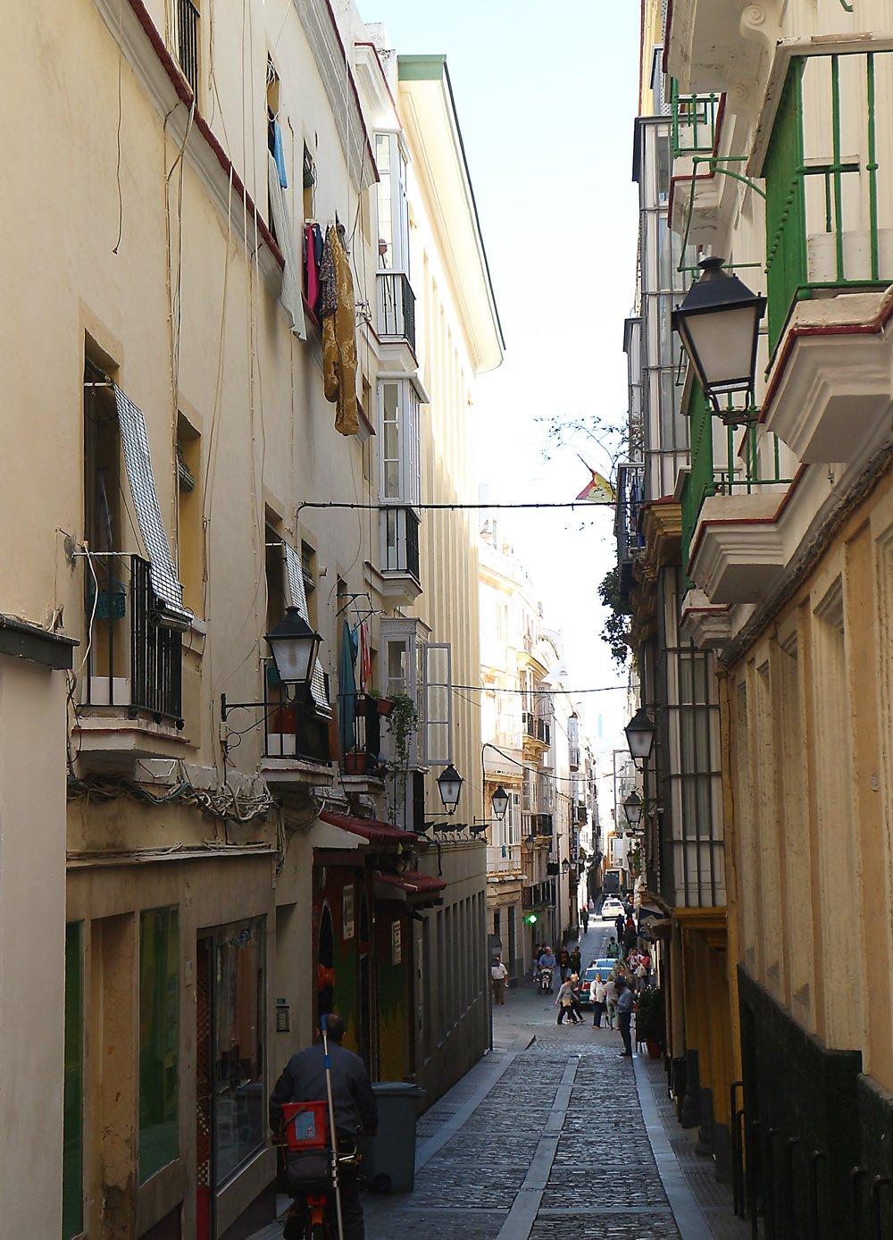 Cadiz vanha kaupunki