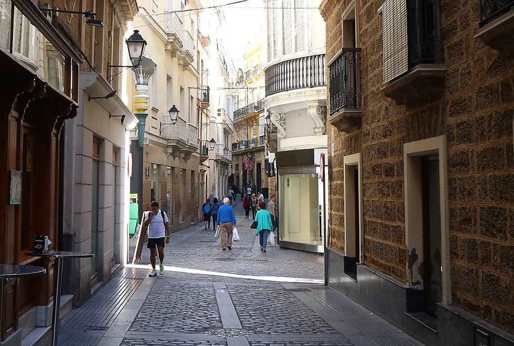 Cadiz vanha kaupunki2