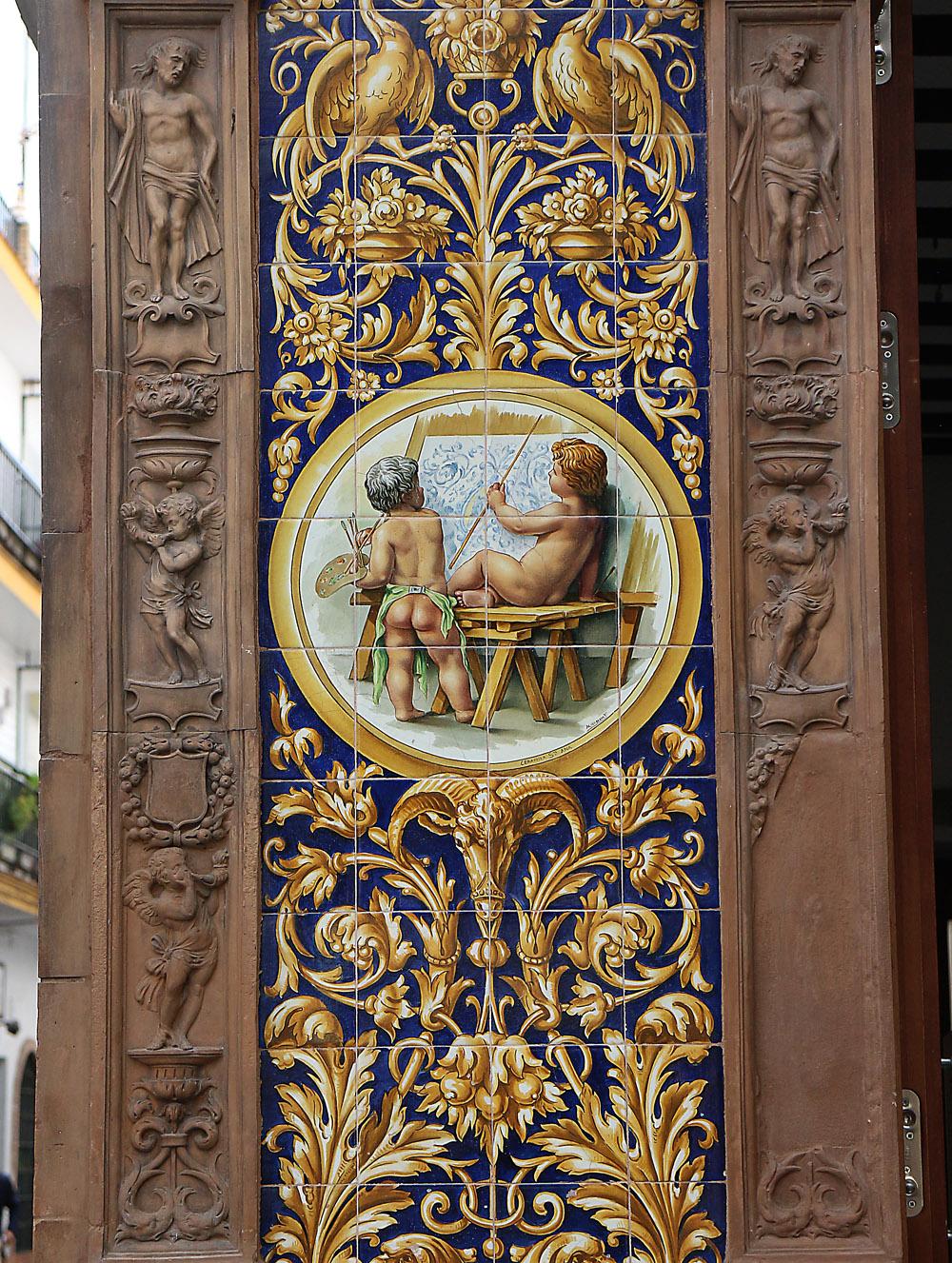 Sevilla keramiikka