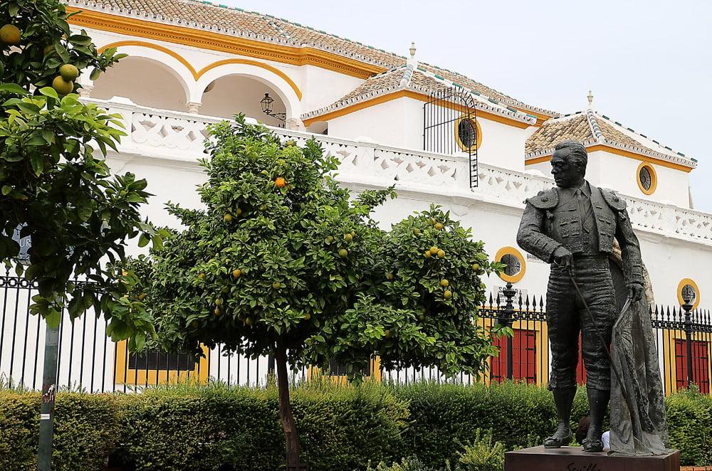 Sevilla plaza toro