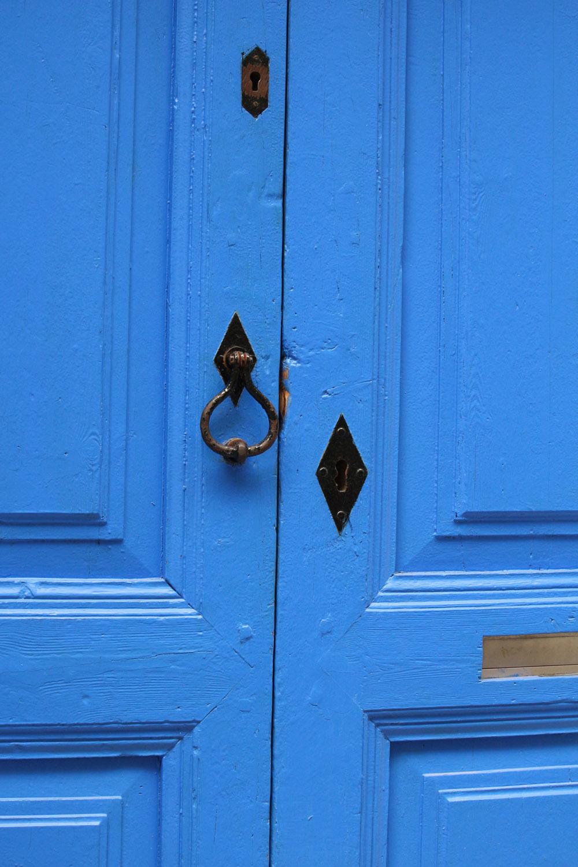 siniset ovet