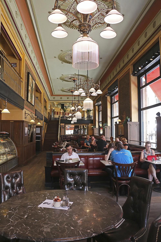 Cafe Central Budapest