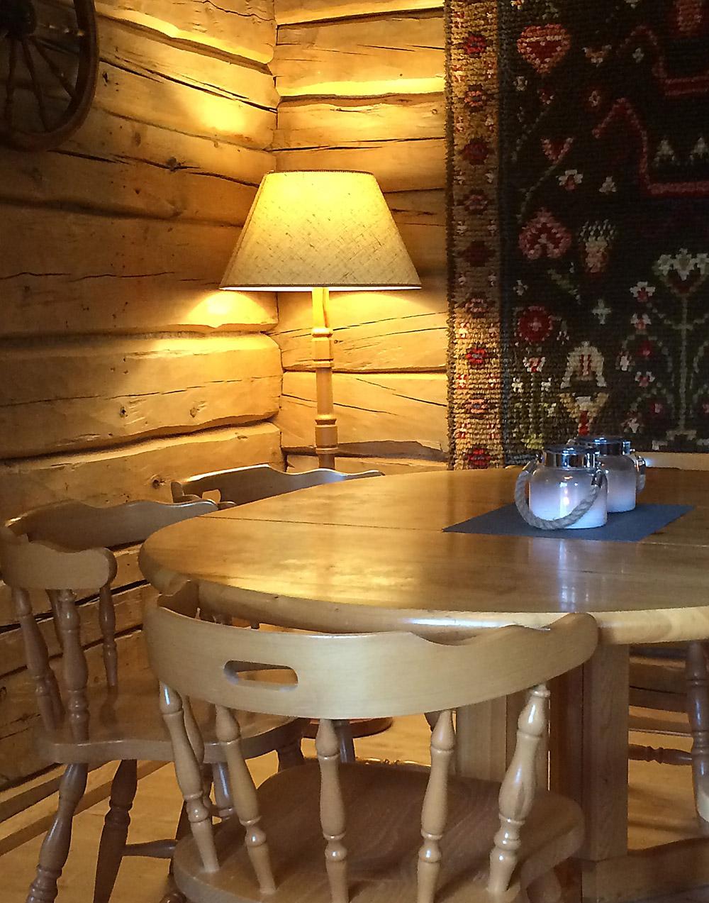 Lodge aamiaishuone